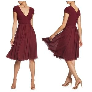 Dress The Population Corey Fit & Flare Dress